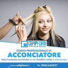 APERTE LE ISCRIZIONI AL CORSO DI ACCONCIATORE II° ANNO PER L'ANNO ACCADEMICO 2018/2019