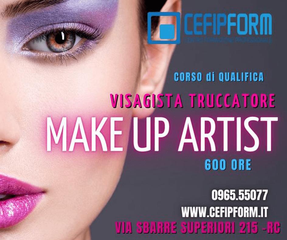 cefip form corso make up artist professionale 600 ore