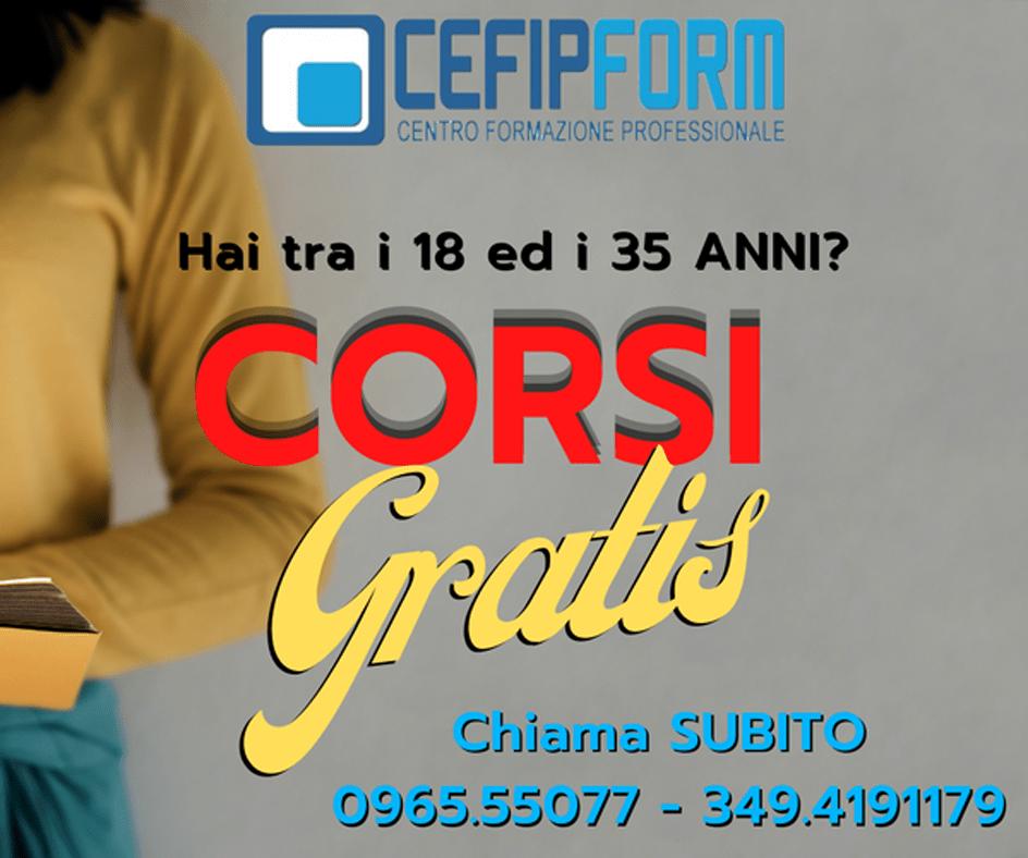 cefip form corsi gratis garanzia giovani attiva calabria news 2021