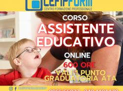 Corso Assistente Educativo News 2021