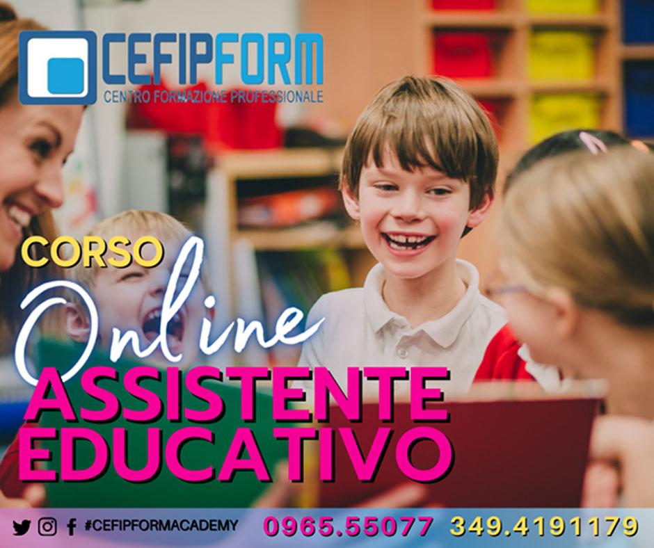 cefip form corso assistente educativo online
