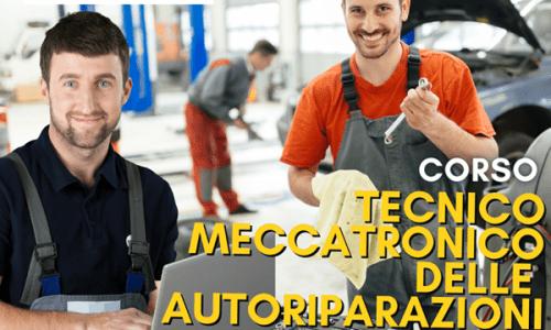 corsi qualifica online abilitazioni corso tecnico meccatronico dell'autoriparazioni online